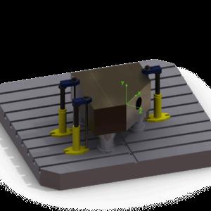 Ricalcolo origini rotazione tavola
